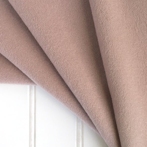 Italian Virgin Wool Cashmere in Blush