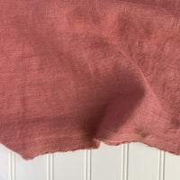 Midweight Washed Linen - Watermelon