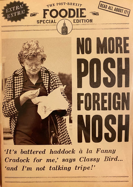 DV1004A - No more Posh Foreign Nosh Card