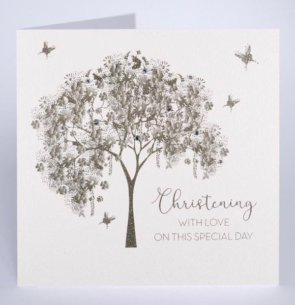 GS45 - Christening Day Tree Card