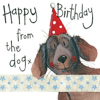 LS85 - Happy Birthday from the Dog Birthday Card