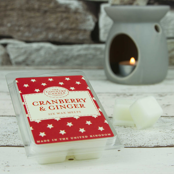 Cranberry & Ginger Wax Melts