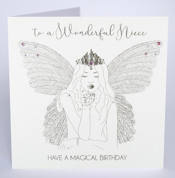 GS52 - Fairy Wonderful Niece Birthday Card