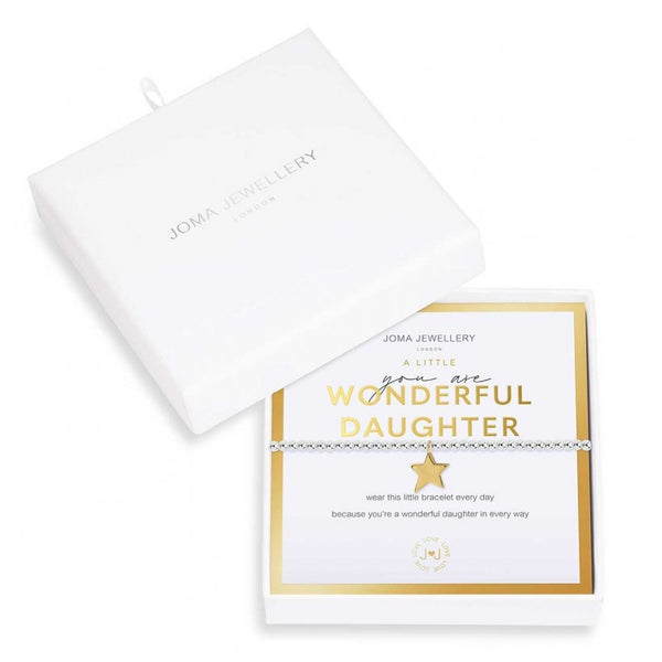 Beautifully Boxed a littles - You are Wonderful Daughter Bracelet