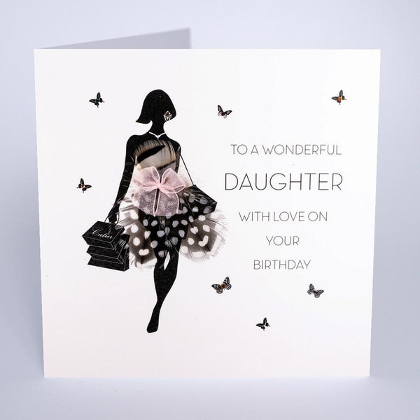 FOF9- Daughter Wonderful Daughter Birthday Card