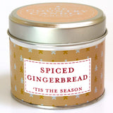 Spiced Gingerbread Tin Candle