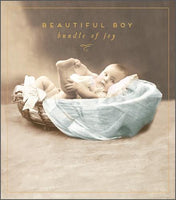 HD736B - Bundle of Joy Baby Boy Card