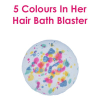 Five Colours in her Hair Bath Bomb Blaster