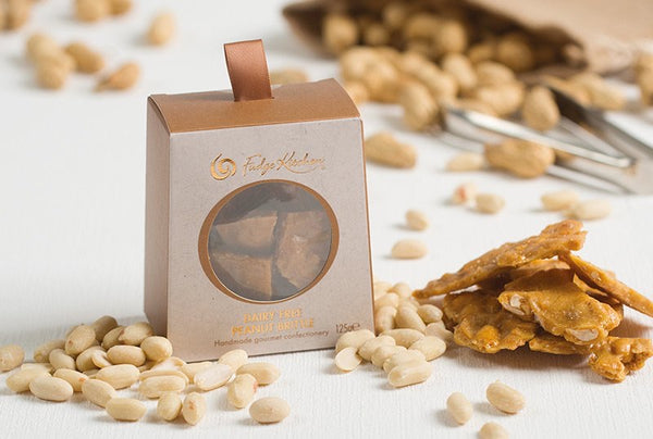 Rock Salted Peanut Brittle (Vegan) 125g