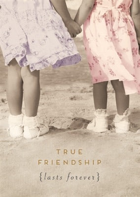 HD1004A- True Friendship Lasts Forever Card