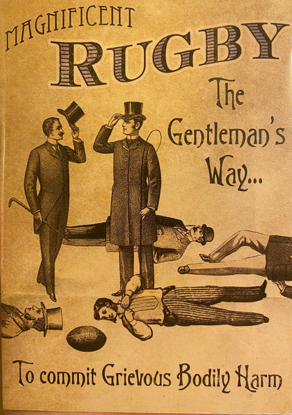 DV189A - Rugby The Gentleman's Way Card