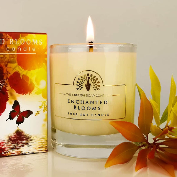 Enchanted Blooms Boxed Soy Wax Candle