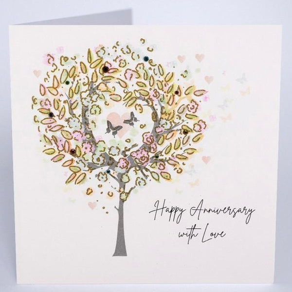 BG34 - Happy Anniversary Tree Card