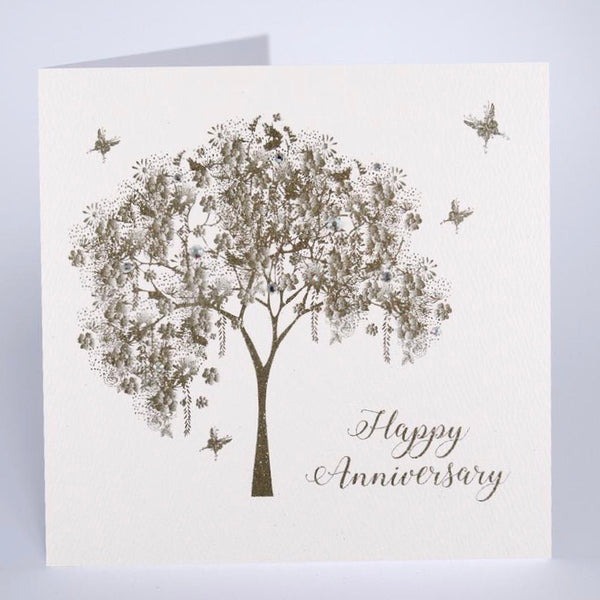 GS36 - Happy Anniversary Tree Card