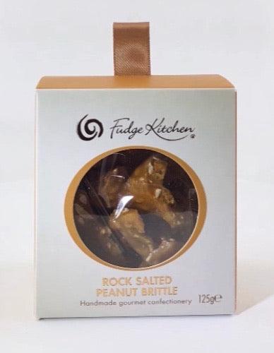 Rock Salted Peanut Brittle 125g