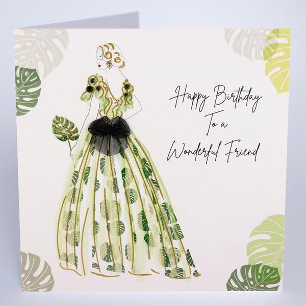 BG6 - Wonderful Friend Birthday Card