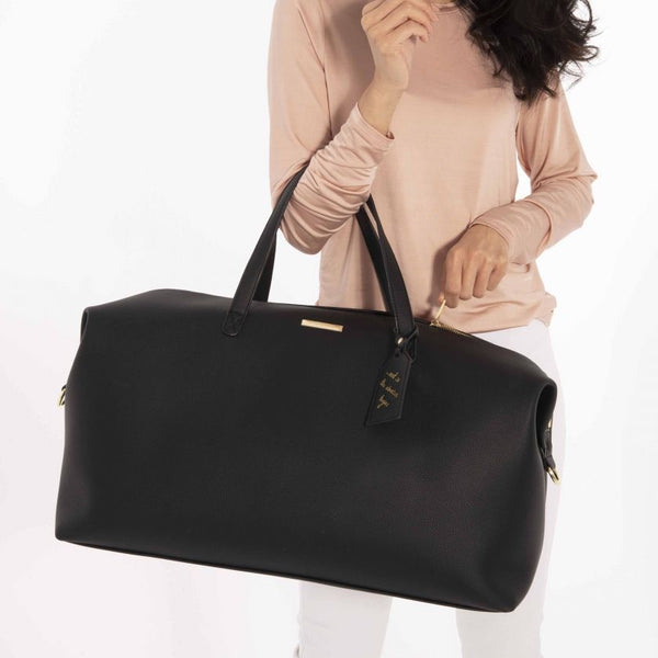 Weekend Holdall Duffle Bag in Black *DS