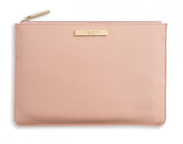 Soft Pebble Pouch with Katie Loxton Gold Badge - Various Colours