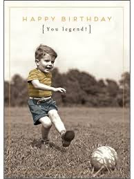 HD154A- You Legend Footballer Birthday Card