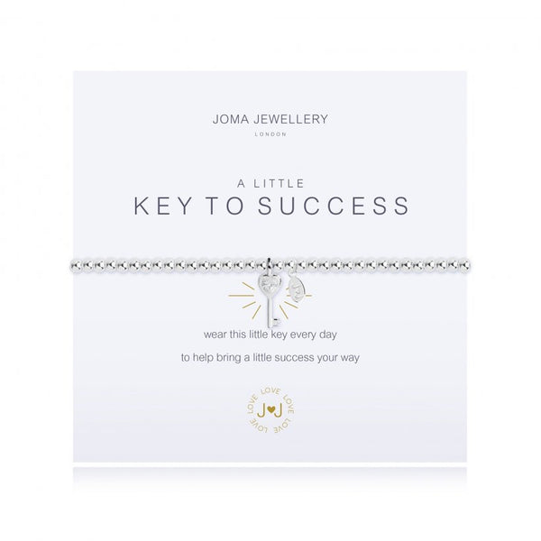 a little Key to Success Bracelet
