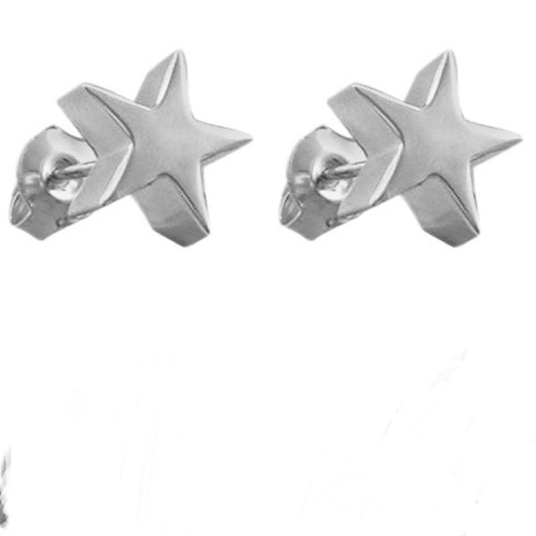 Seychelles Star Stud Earrings in Sterling Silver