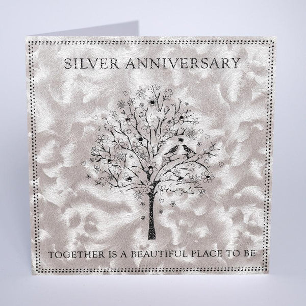 GD23 - Silver Anniversary Card