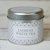 Jasmine White Tea Tin Candle