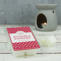 Rhubarb & Raspberry Wax Melts
