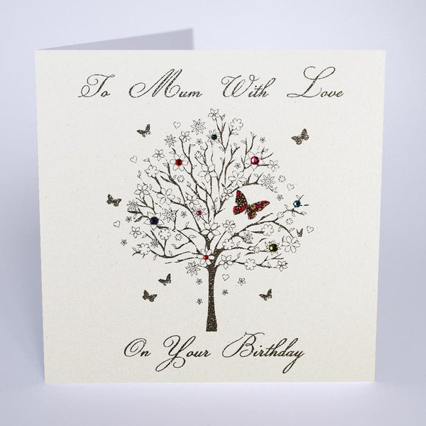 MB17 - Mum With Love Birthday Card