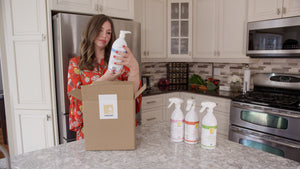 REFRESH - Home Cleaning Kit - ALLORGANIC PRODUCTS