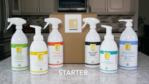 STARTER - Home Cleaning Kit - ALLORGANIC PRODUCTS