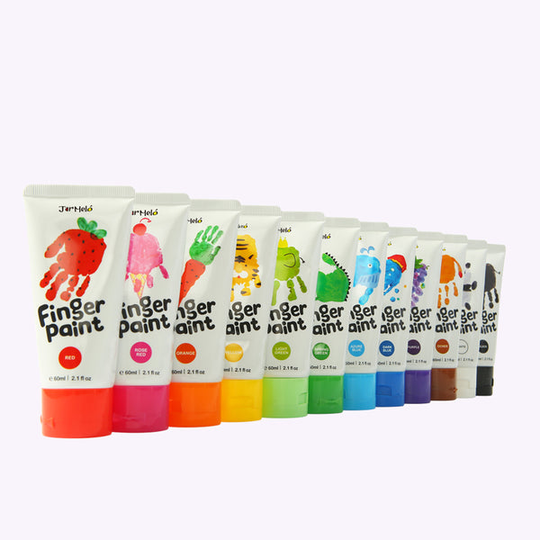 FINGER PAINT 12 COLOURS SET - Kindreds Palace
