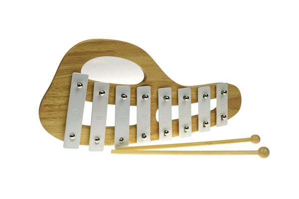 CLASSIC CALM WOODEN XYLOPHONE CASPER WHITE - Kindreds Palace