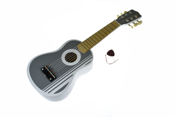 WOODEN GUITAR 54CM TERRACE GREY - Kindreds Palace