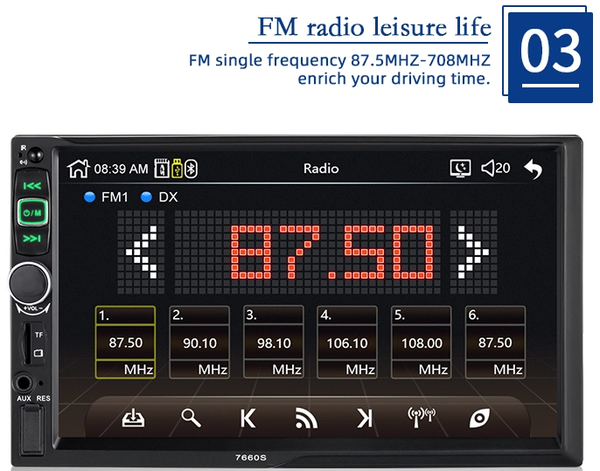 carplay stereo fm radio | lasbuy