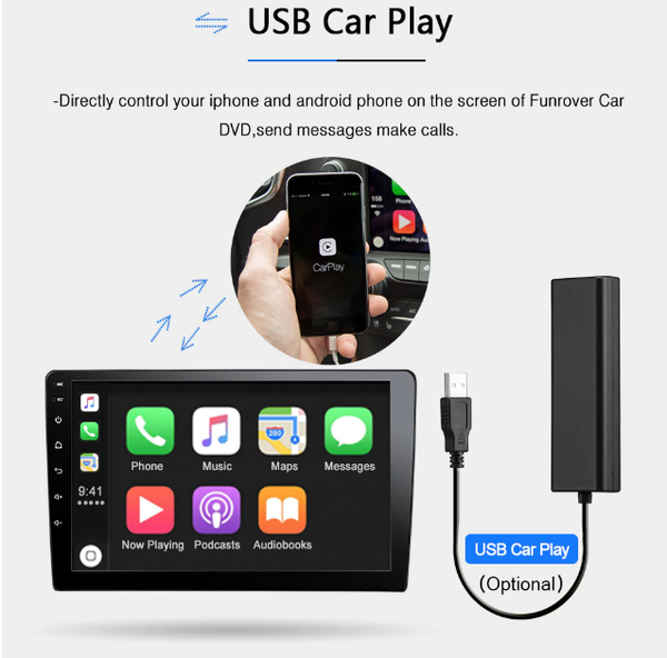 Holden Cruz Apple Carplay by Lasbuy
