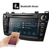 2 Din car dvd Android player for Mazda 3