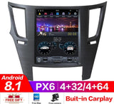 Tesla style Android Multimedia Head-unit For Subaru Legacy Outback