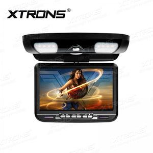 "9"" TFT Digital screen 16:9 monitor Car Roof DVD Player"