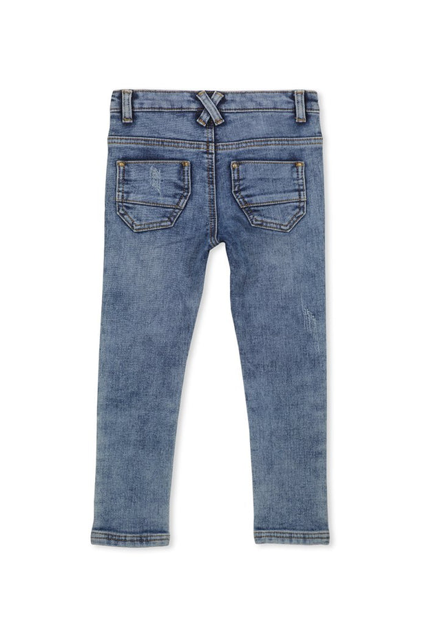 Mid Wash Denim Jean