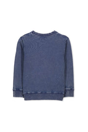 GARMENT DYE CREW SWEAT