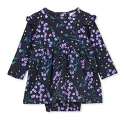 Winter Floral Baby Dress