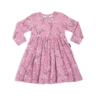 Baby's Breath LS Flare Dress