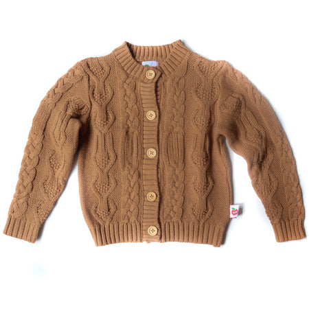 Willow Cardigan - Golden Caramel