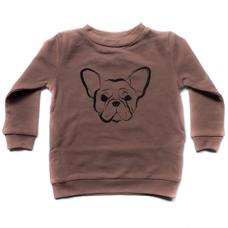 Frenchie Sweater - Warm Taupe
