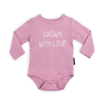 Grown With Love Onesie Rose