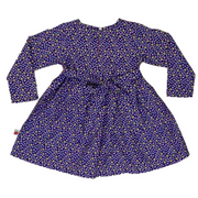 Paige Dress Navy Ditsy