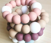 Blush Basic Teething Ring