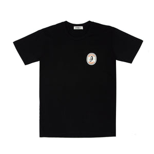 'a very emotional tour' black tee