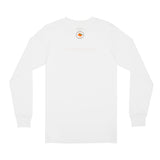 white emotional. LS tee